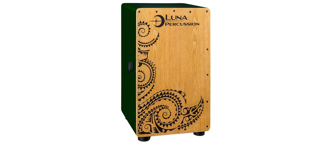 LUNA PERCUSSION LPC GRN CAJON GREEN