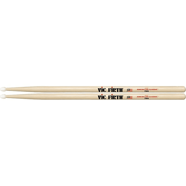VIC FIRTH DRUMSTICKS 7AN CLASSIC NYLON TIP