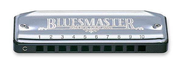 SUZUKI HARMONICA BLUESMASTER KEY OF A (MR-250 A)