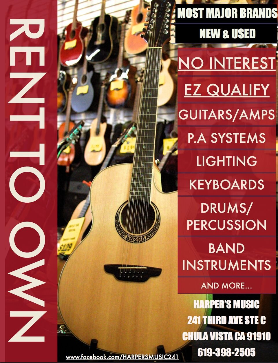 near music musical instruments 2505 call today repair rent