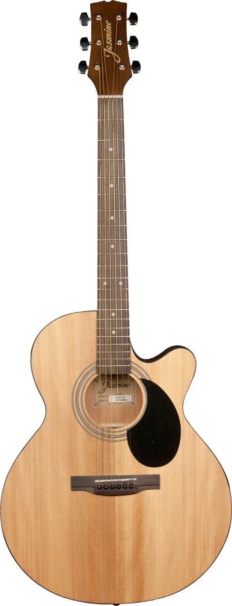 JASMINE S-34C GRAND ORCHESTRA ACOUSTIC GUITAR W/CUTAWAY SPRUCE NATURAL