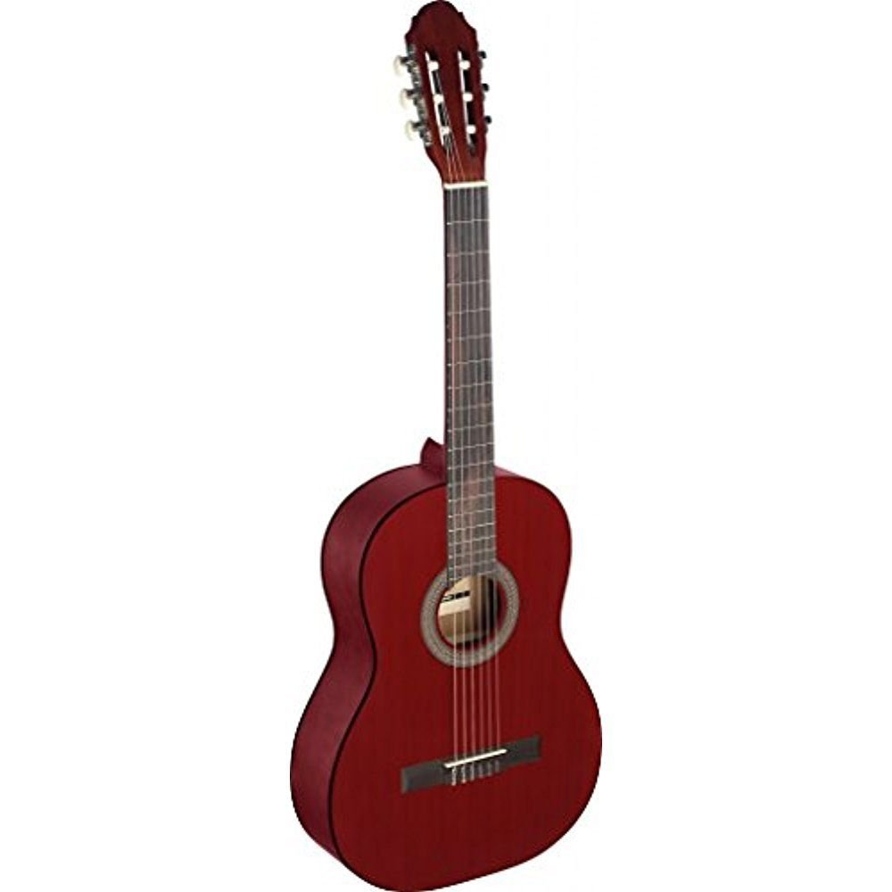 STAGG C440 M RED CLASSICAL GUITAR 4/4 SIZE RED