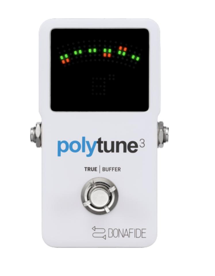 TC ELECTRONIC POLYTUNE 3 W/BUFFER TUNER PEDAL (966130001)
