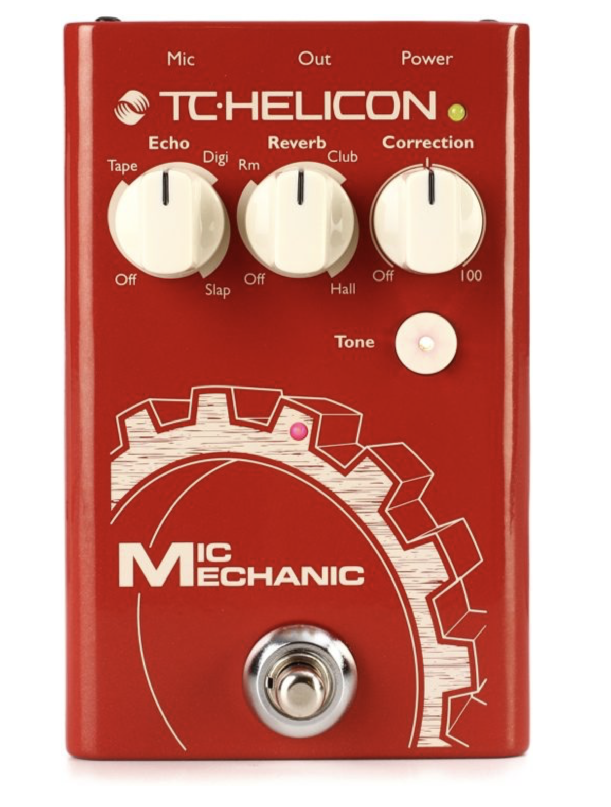TC HELICON MIC MECHANIC 2 VOCAL EFFECTS PEDAL (996014001)