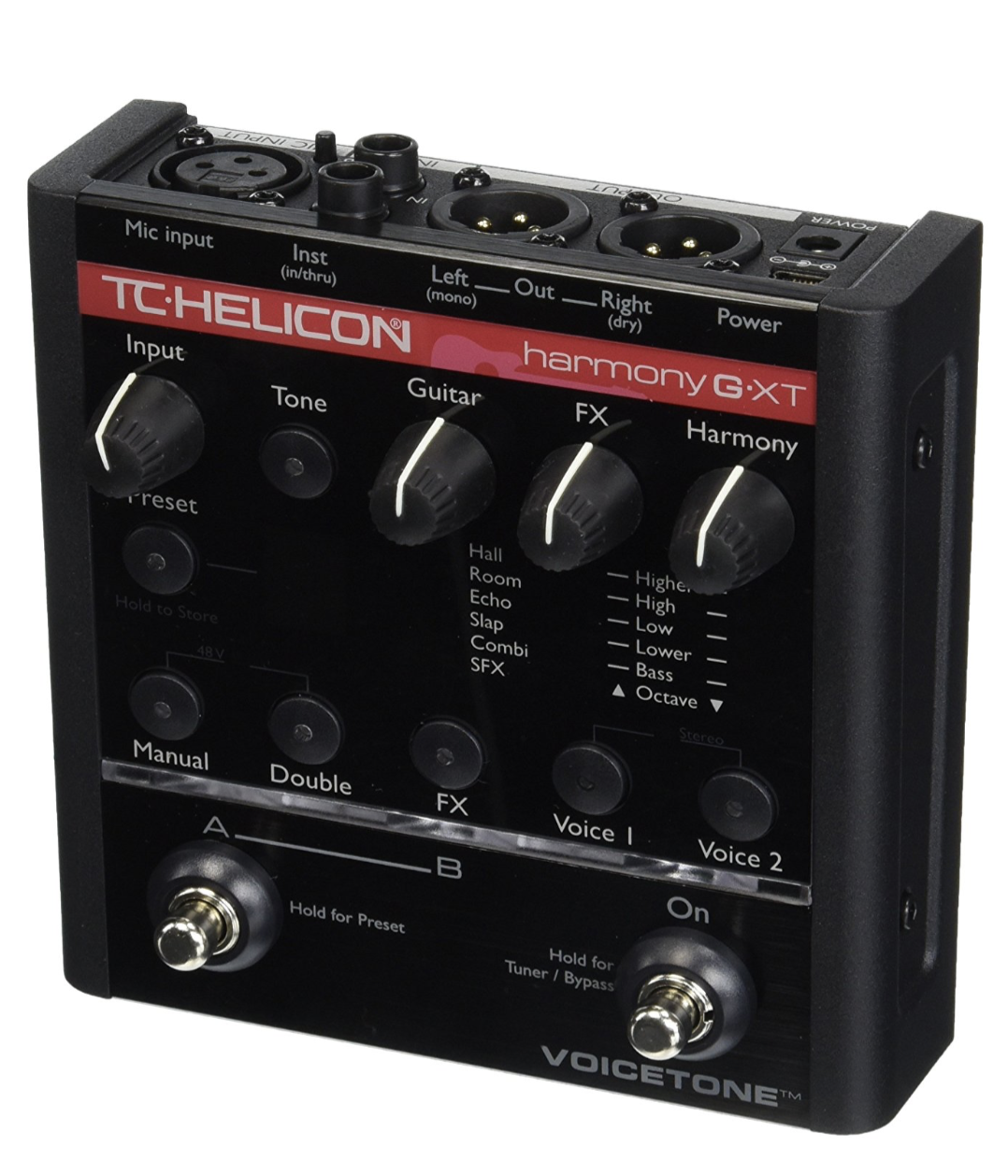 TC HELICON VOICETONE HARMONY-G XT VOCAL PROCESSOR FOR GUITARIST