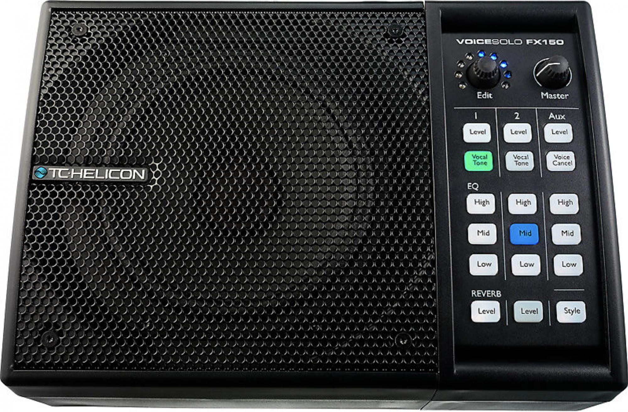 TC HELICON VOICESOLO FX150 VOCAL MONITOR 150W 3. CHANNEL W/REVERB (996551011)