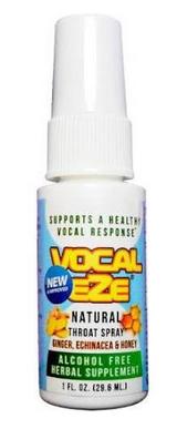 VOCAL EZE PROFESSIONAL VOCALIST THROAT SPRAY 1 oz.