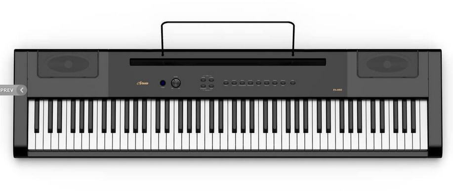 ARTESIA PA-88H DIGITAL PIANO 88 WEIGHTED HAMMER ACTION KEYS
