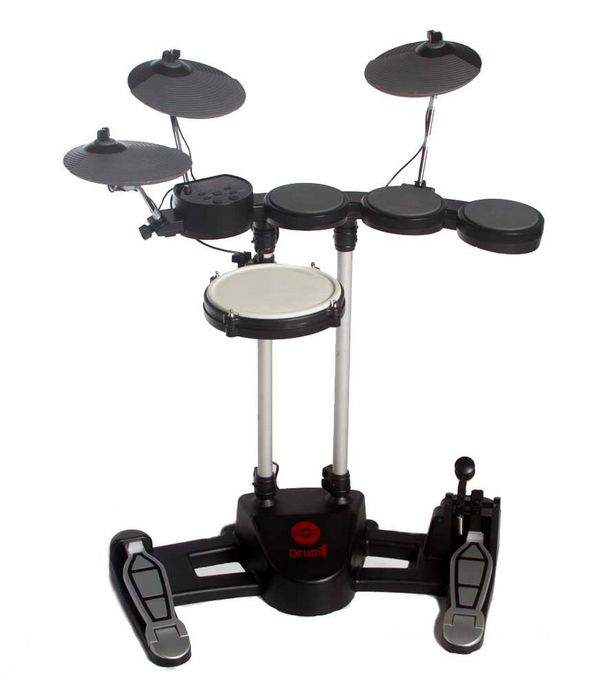 HITMAN JUNIOR DRUM 1 ELECTRONIC DRUMSET BLACK