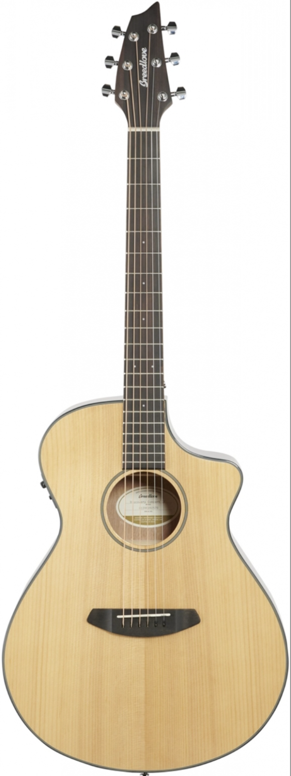 BREEDLOVE DISCOVERY DSCN01CESSMA(3) ACOUSTIC-ELECTRIC GUITAR CONCERT CE SITKA-MAHOGANY