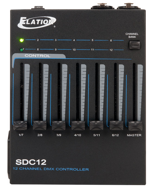 ELATION SDC12 12 CHANNEL DMX CONTROLLER