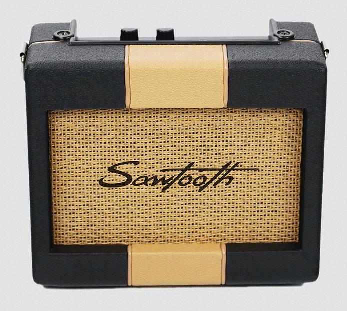SAWTOOTH ST-RET-AMP-5 RETRO 5 WATT PORTABLE ELECTRIC GUITAR AMPLIFIER