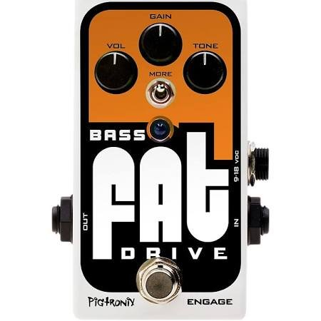 PIGTRONIX BASS FAT DRIVE OVERDRIVE PEDAL (DEMO)