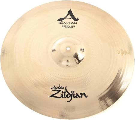 ZILDJIAN A CUSTOM 20 RIDE CYMBAL MEDIUM (A20519)
