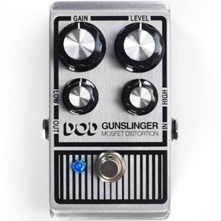 DOD PEDAL GUNSLINGER MOSFET DISTORTION