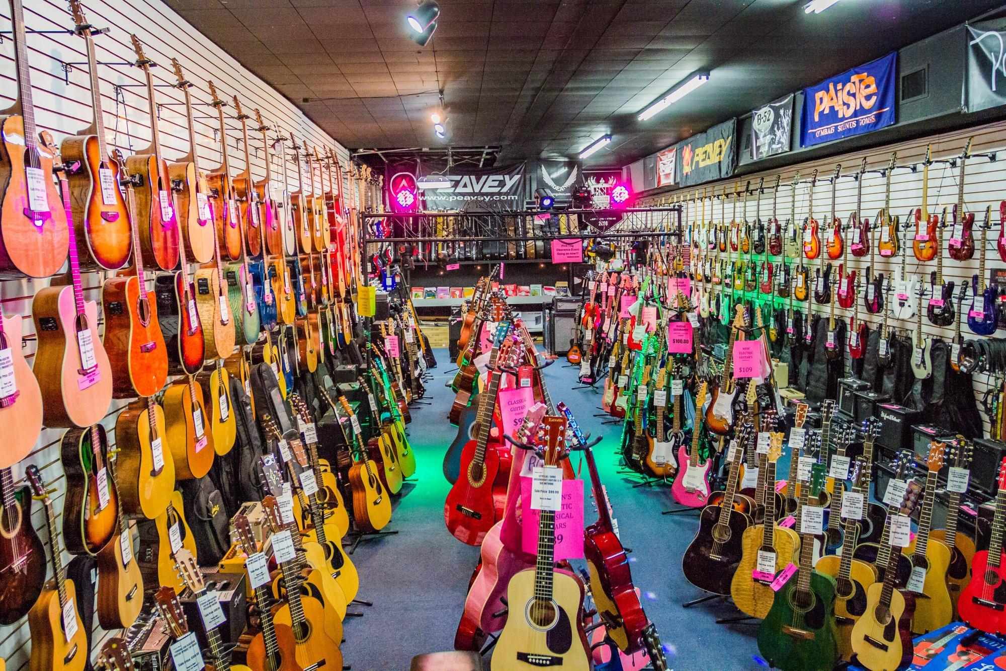 near music musical instruments repair harper location