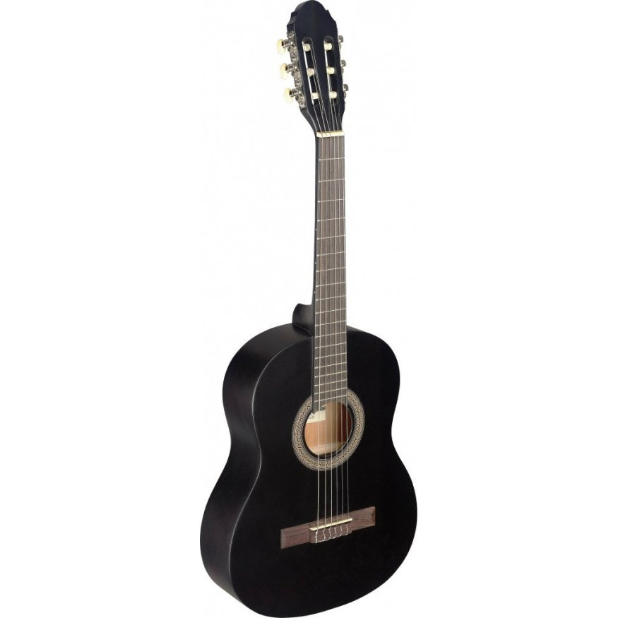 STAGG C430 M BLK CLASSICAL GUITAR 3/4 SIZE BLACK