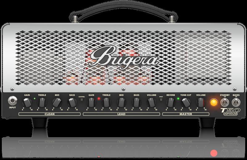 BUGERA T50 INFINIUM TUBE AMP HEAD 50W CLASS 2