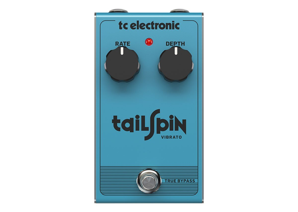 TC Electronic Classic True Pitch Vibrato with All-Analog Bucket-Brigade Design