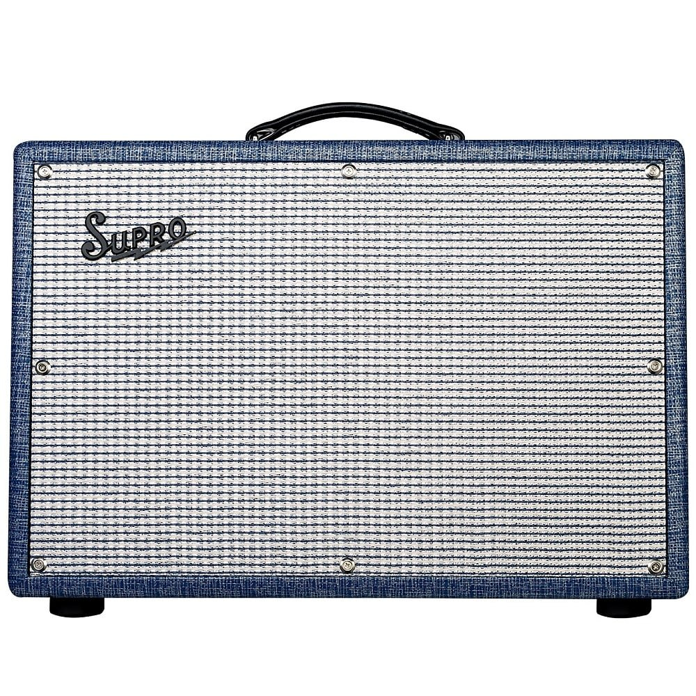 SUPRO 1650RT ROYAL REVERB TUBE GUITAR AMPLIFIER COMBO 2x10 60 WATTS