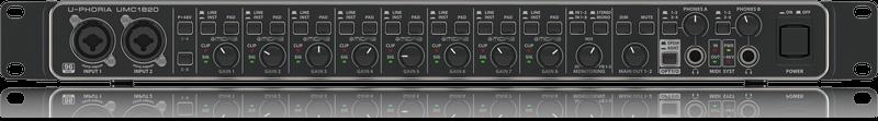 BEHRINGER U-PHORIA UMC1820 USB AUDIO/MIDI INTERFACE 18x20 24BIT