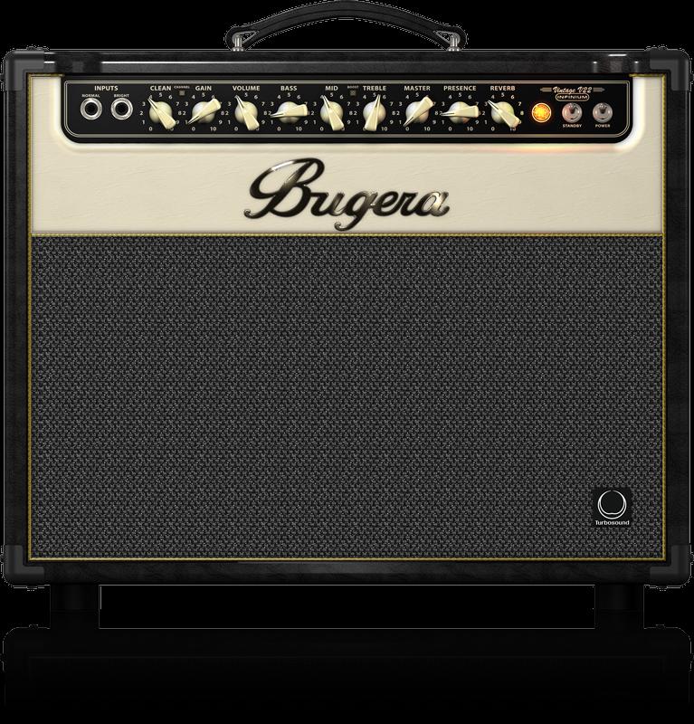 BUGERA V22 INFINIUM TUBE AMP COMBO 1x12 22W W/REVERB