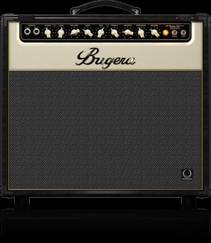 BUGERA V55 INFINIUM TUBE AMP COMBO 1x12 55W W/REVERB