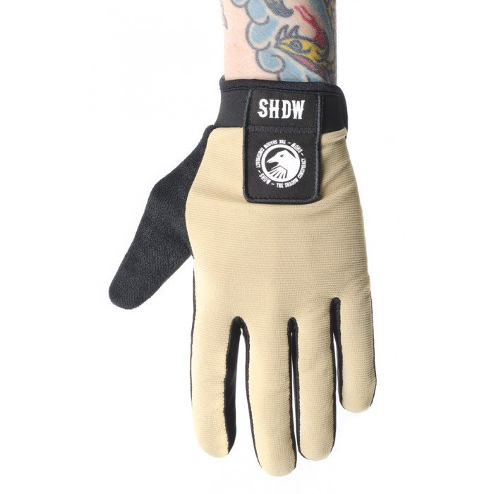 SHADOW TAN BMX GLOVES