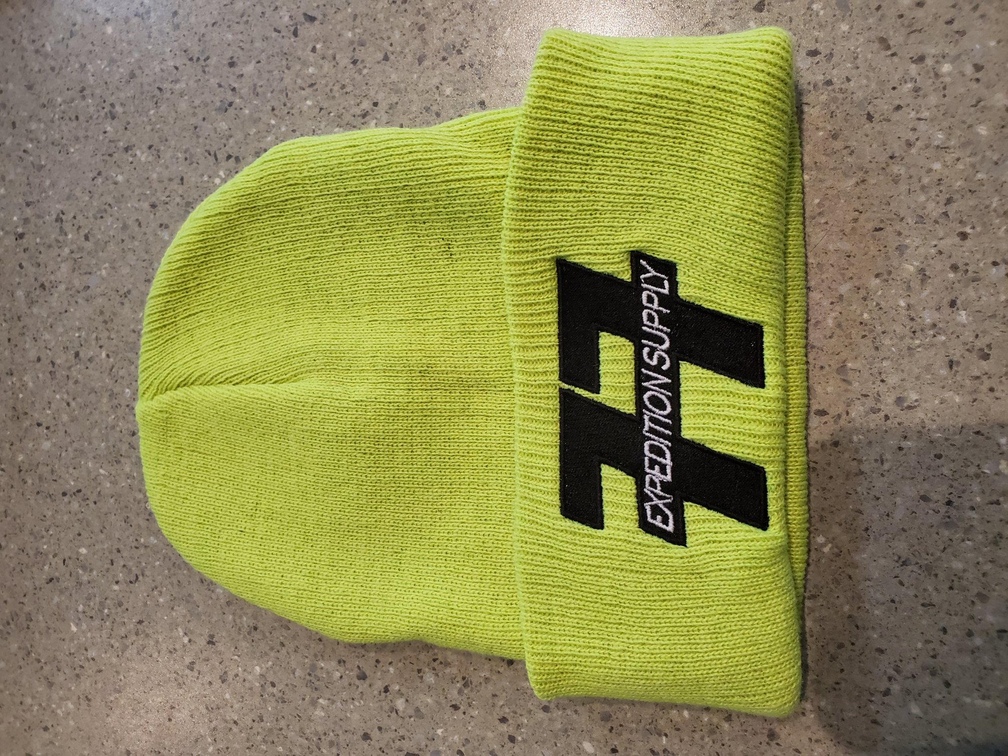 EXPEDITION SUPPLY EMBROIDERED BEANIE