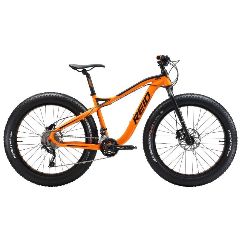 REID ZEUS 26X4 FAT BIKE ORANGE 19