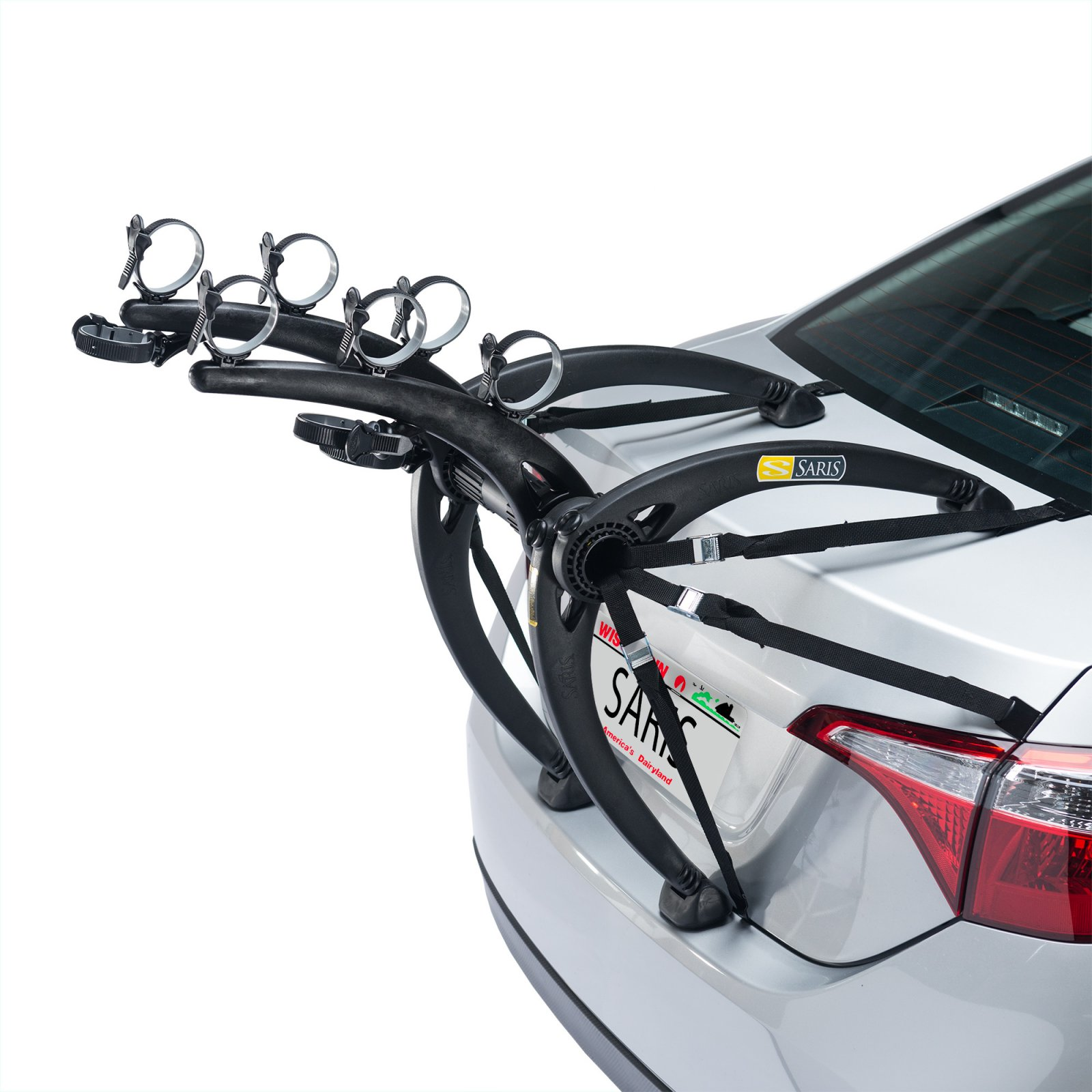 SARIS 801 BONES 3-BIKE RACK BLACK
