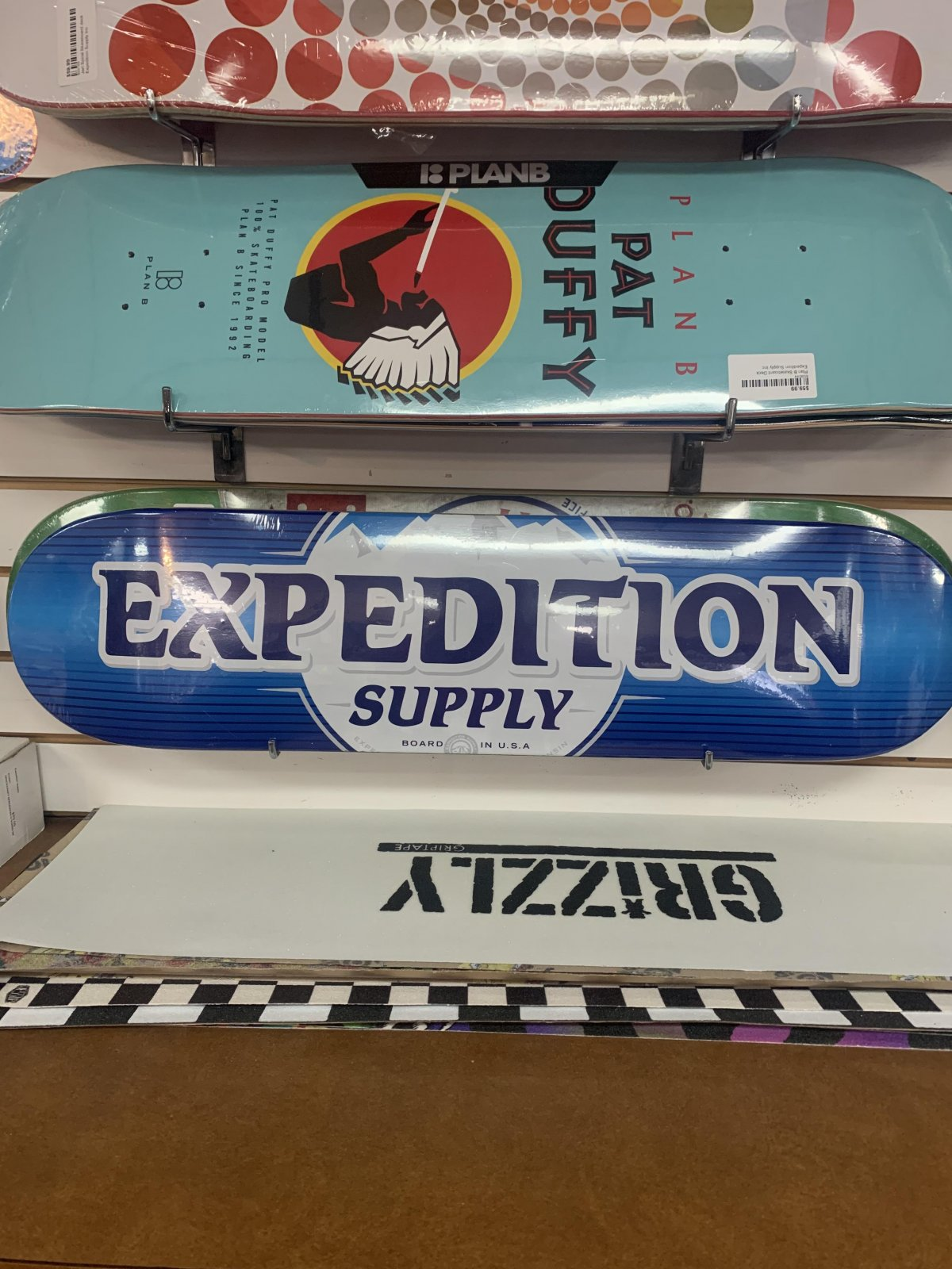 EXPEDITION BUSCH SKATE DECK