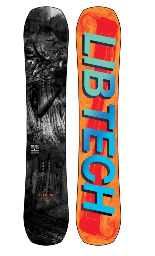 LIB TECH BOX KNIFE SNOWBOARD 2022