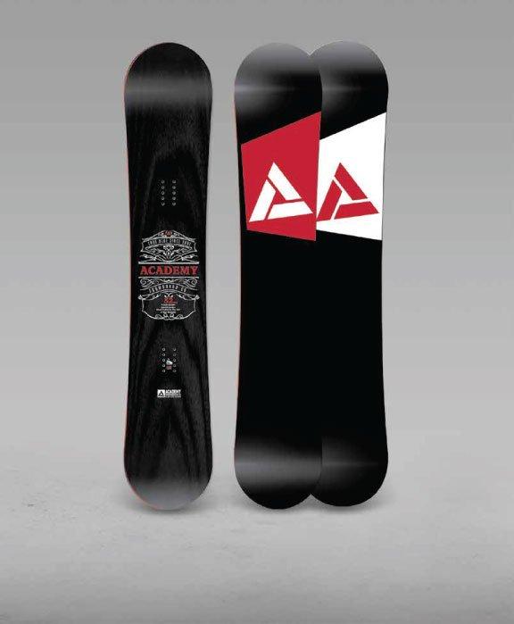 ACADEMY HYBRID CAMBER SNOWBOARD