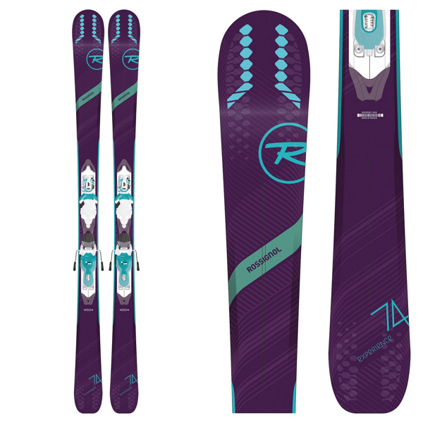 ROSSIGNOL EXPERIENCE 74W +XPRESS10 BINDINGS