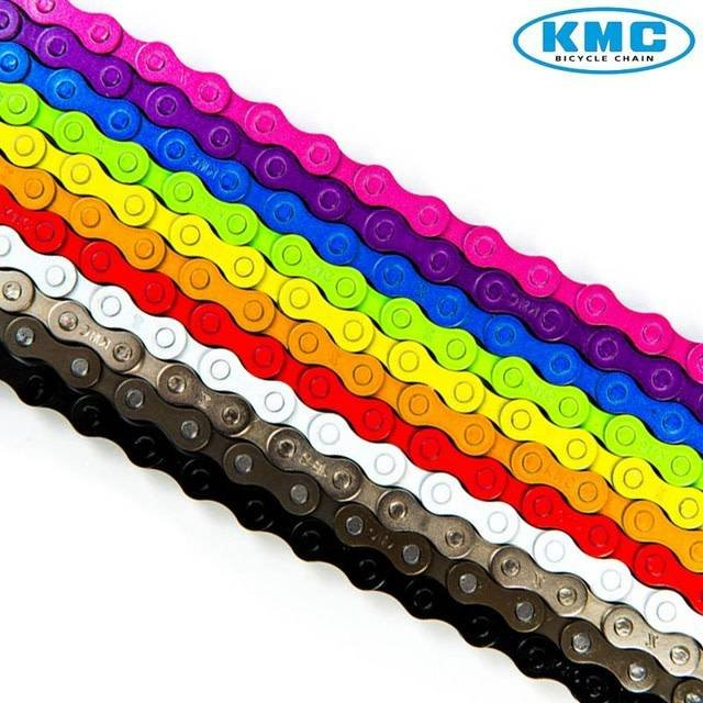 KMC Z410 COLORED BMX CHAIN