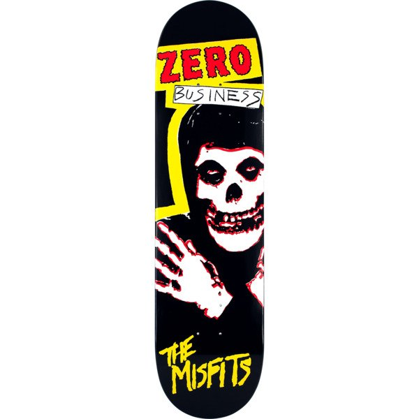 ZERO X MISFITS BUSINESS SKATE DECK