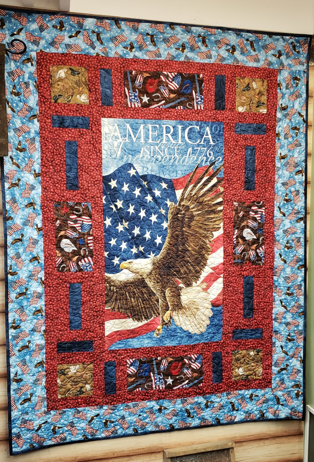 Cubby Holes Kit - Eagle and Flag