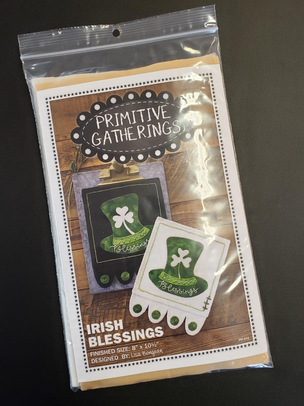 Irish Blessings Kit with Pattern - Light Version