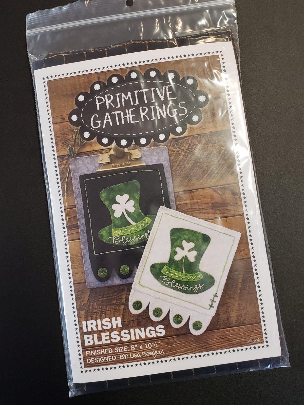 Irish Blessings Kit with Pattern - Dark Version