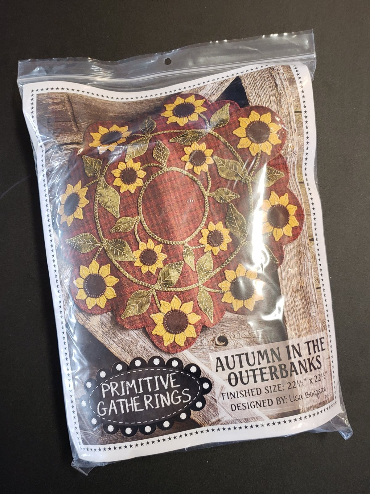 Autumn in the Outerbanks Kit with Pattern