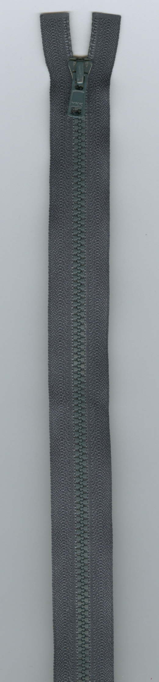 YKK Separating Zipper 14 - Charcoal - #3