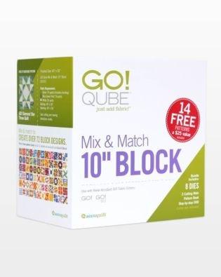 55797 - AccuQuilt GO! Qube Mix & Match - 10 Block