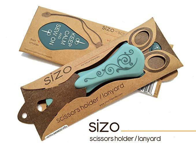 Sizo Scissors Holder/Lanyard Aqua