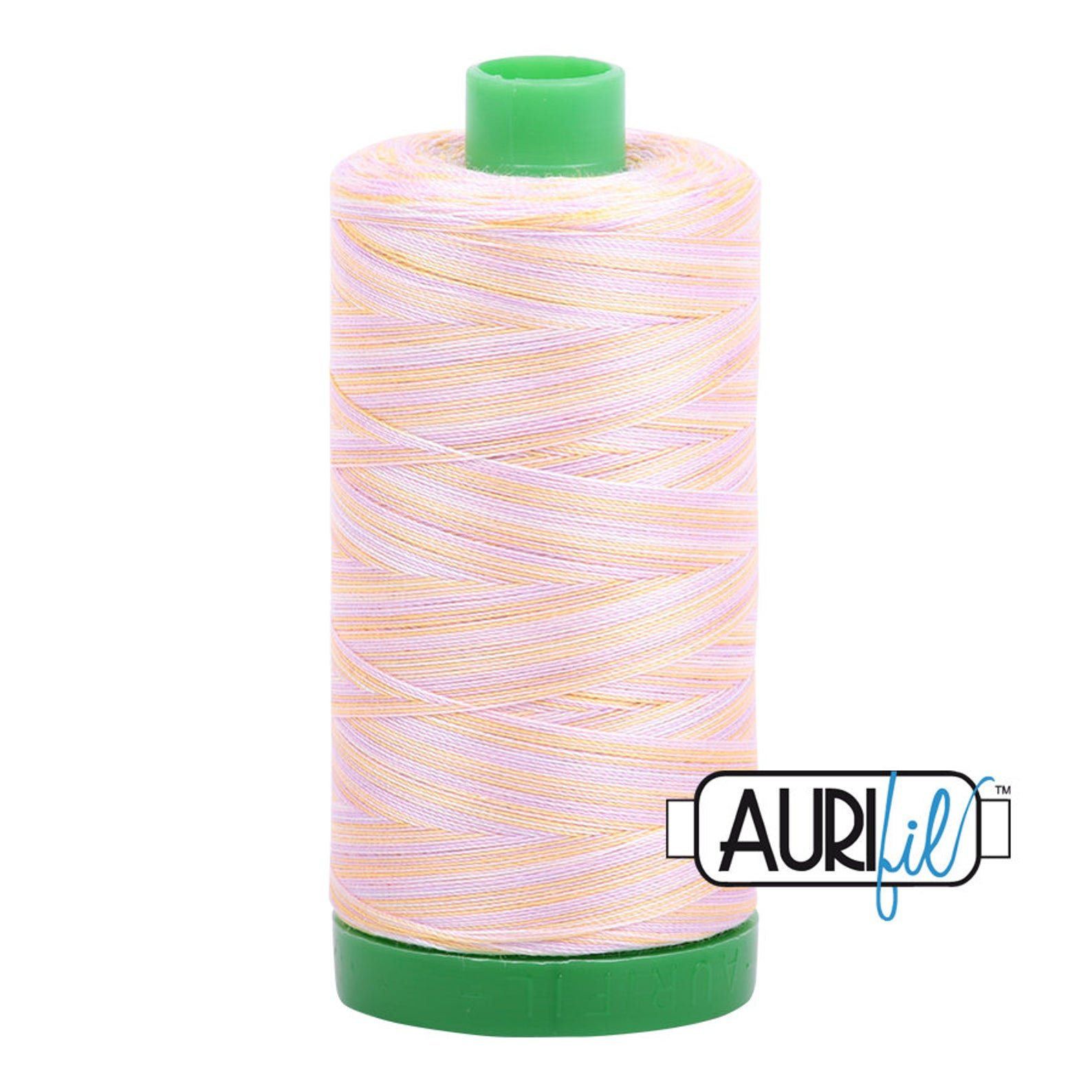Aurifil Mako Cotton Embroidery Thread 40wt 1094yds 4651 Variegated Bari