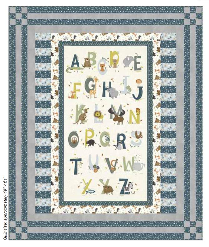 Animal Alphabet Kit - Blue