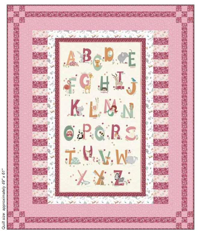 Animal Alphabet Kit - Pink