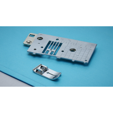 Baby Lock Straight Stitch Needle Plate and Foot Set
