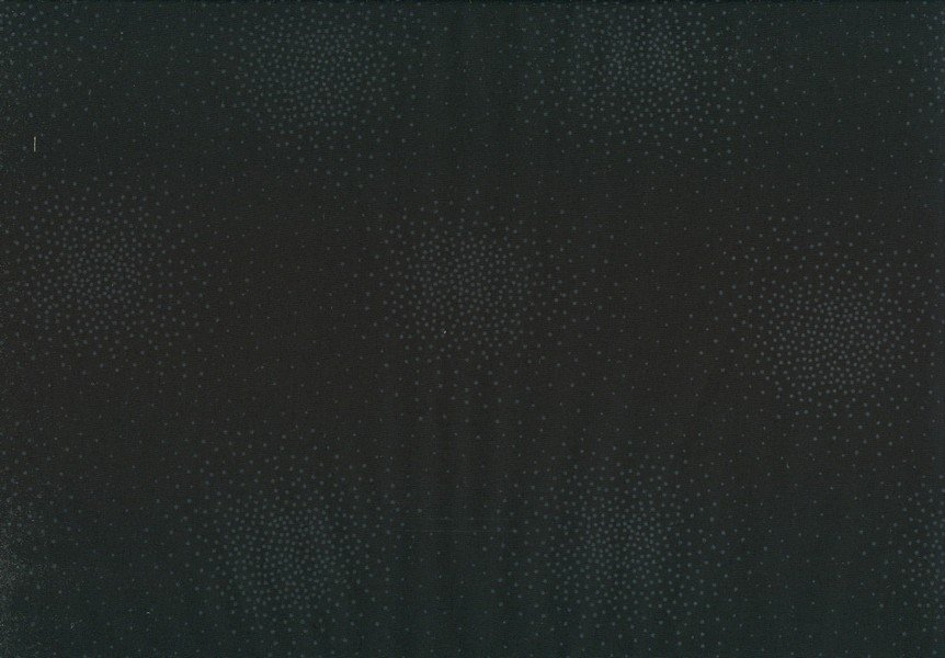 Century Prints - Dot Clusters - Black on Black