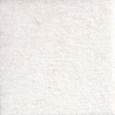 WoolyLady - 100% Wool Fat Eighth - Classic White